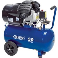 Draper DA50/412TV Air Compressor50 Litre 240v