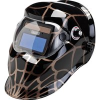 Draper Solar Auto Dimming Vario Shade Welding Helmet Black / Gold