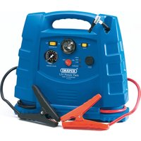 Draper Portable Emergency Jump Starter, Power Pack & Air Compressor 12v