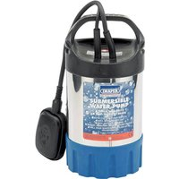 Draper SWP120ASS Stainless Steel Submersible Clean Water Pump 240v