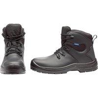 Draper Waterproof Safety Boots Black Size 10