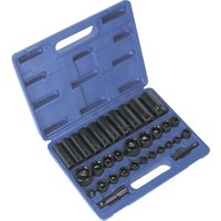 Sealey 32 Piece Combination Drive Impact Socket Set Combination