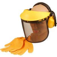 ALM Grass & Hedge Trimmer Safety Helmet