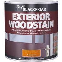 Blackfriar Traditional Exterior Woodstain Brown Mahogany 500ml