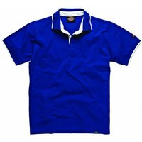 Dickies Mens Anvil Polo Shirt Blue XL