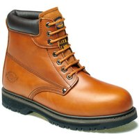 Dickies Mens Cleveland Safety Boots Chestnut 8