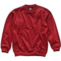 Dickies Mens Crew Neck Sweatshirt Red M