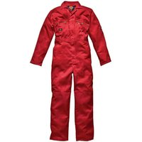 Dickies Mens Redhawk Overalls Red 52 30