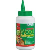 Everbuild Lumberjack 5 Minute Polyure Wood Adhesive Liquid 750ml