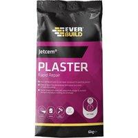 Everbuild Jet Cem Quick Set Patching Plaster 6kg