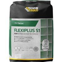 Everbuild Rapid Set Flexiplus Tile Adhesive 20kg