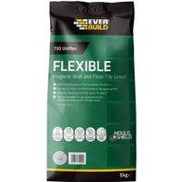 Everbuild Universal Flexible Tile Grout Grey 5kg