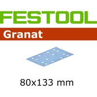 Festool STF 80 x133mm Abrasive Sheet 120g Pack of 10