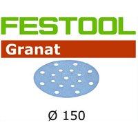Festool Granit StickFix 150mm Abrasive Discs 80g Pack of 10