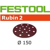 Festool Rubin 2 StickFix Sanding Discs 150mm 150mm 100g Pack of 10