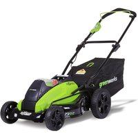 Greenworks G40LM45 40v Cordless Brushless Rotary Lawnmower 450mm No Batteries No Charger