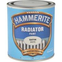 Hammerite Radiator Enamel Paint Satin White 500ml