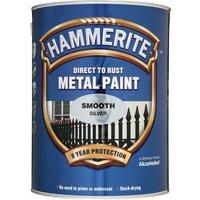 Hammerite Smooth Finish Metal Paint White 250ml