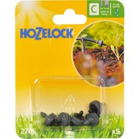 Hozelock CLASSIC MICRO End Line Pressure Compensating Dripper 5/32 / 4mm Pack of 5