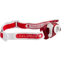 LED Lenser SEO5 Focusing Head Torch Red