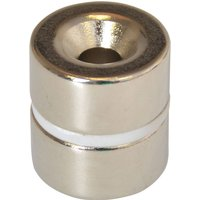 E Magnet 314 Countersunk Magnets 20mm Pack of 2