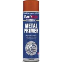 Plastikote Metal Primer Aerosol Spray Paint Red 400ml