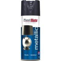 Plastikote Metallic Aerosol Spray Paint Graphite 400ml