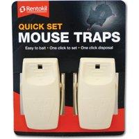 Rentokil Quick Set Mouse Traps Pack of 2