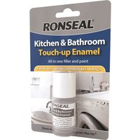 Ronseal Kitchen & Bathroom Touch Up Enamel Paint 10ml