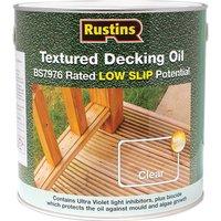 Rustins Textured Decking Oil 2.5l