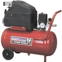 Sealey SA2415 Air Compressor 24 Litre 240v