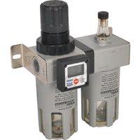 Sealey SA406 Digital Gauge Air Line Filter & Regulator
