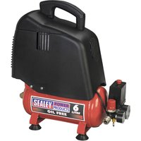 Sealey SAC00615 Air Compressor 6 Litre 240v