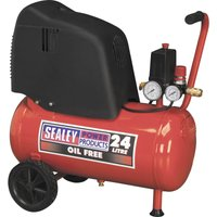 Sealey SAC02415 Air Compressor 25 Litre 240v