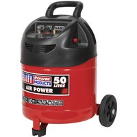 Sealey SAC03250 Air Compressor 50 Litre 240v