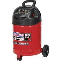 Sealey SAC03290 Air Compressor 90 Litre 240v