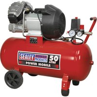 Sealey SAC05030 Air Compressor 50 Litre 240v
