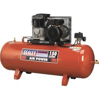 Sealey SAC1153B Belt Drive Air Compressor 150 Litre 240v
