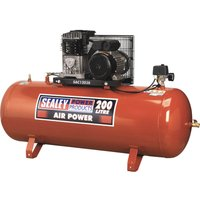 Sealey SAC1203B Air Compressor 200 Litre 240v