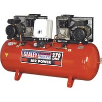 Sealey SAC1276B Air Compressor 270 Litre 240v