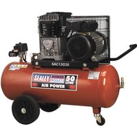 Sealey SAC1503B Air Compressor 50 Litre 240v