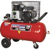 Sealey SAC2103B Air Compressor 100 Litre 240v