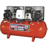 Sealey SAC2276B Air Compressor 270 Litre 240v