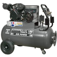 Sealey SAC3103B Air Compressor 100 Litre 240v