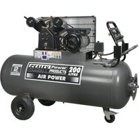 Sealey SAC3203B Air Compressor 200 Litre 240v