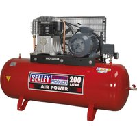 Sealey SAC42055B Air Compressor 200 LItre 415v