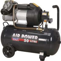 Sealey SAC5020E Air Compressor 50 Litre 240v