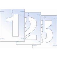 Scan Number Stencil Kit 300mm