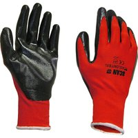 Scan Palm Dipped Nitrile Gloves XL