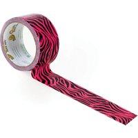 Shure Multi Patterned Duck Tape Pink Zebra
